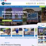 Pressure Cleaning Website Design