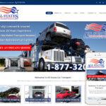 Auto Transport Website Design
