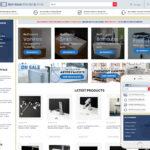 Bathroom Products Website Design