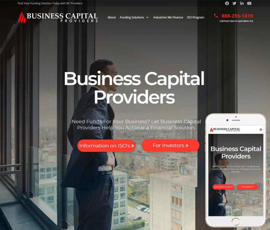 Business Capital Website Design