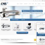 Medical Equipment Website Design