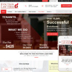 Eviction Lawyer Website Design