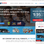 Media Conversion Website Design