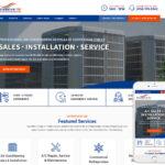 Air Conditioning Website Design