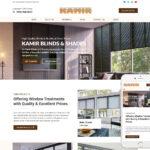 Window Treatment Website Design