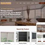 Window Blinds Website Design