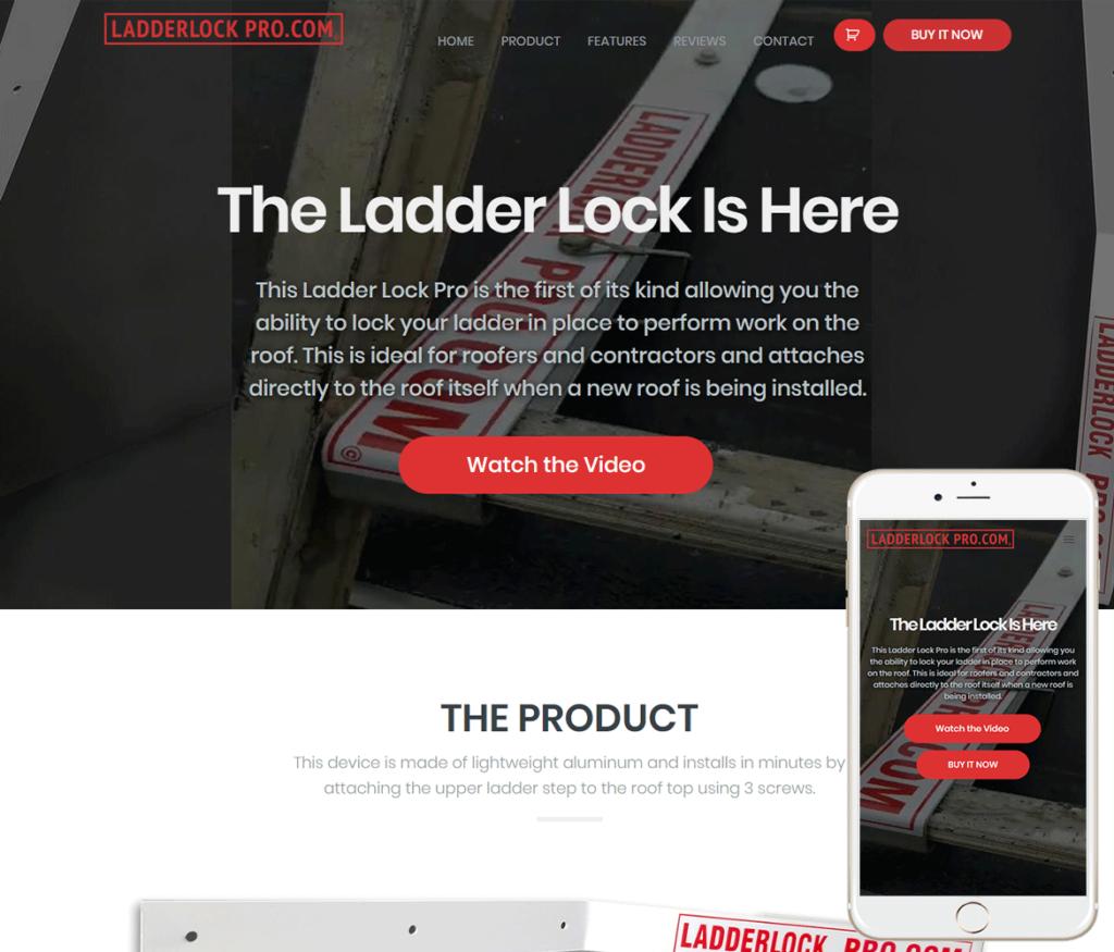 Product Landing Website Design