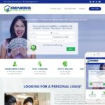 Financial Loans Website Design