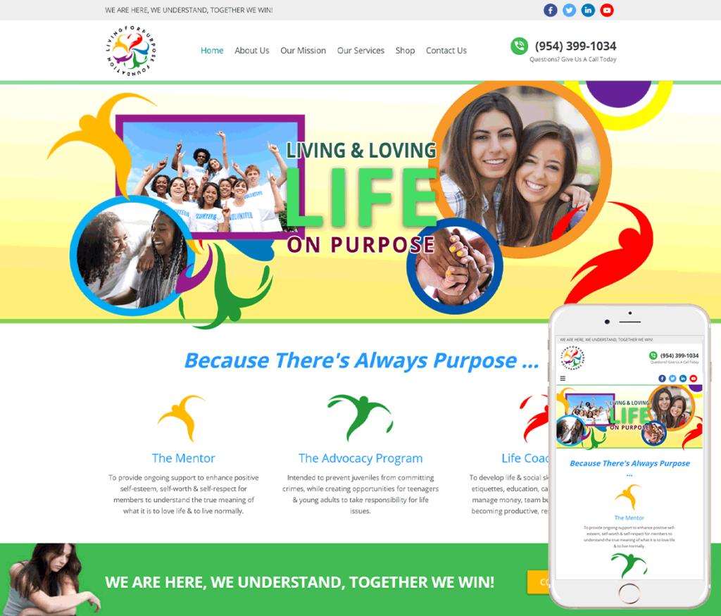 Non Profit Website Design