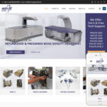 X-ray Equipment Website Design