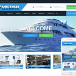 Marine Products Website Design