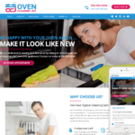 Cleaning Company Website Design