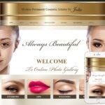 Permanent Makeup Website Design