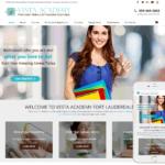 Makeup School Website Design