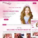 Childs Party Website Design