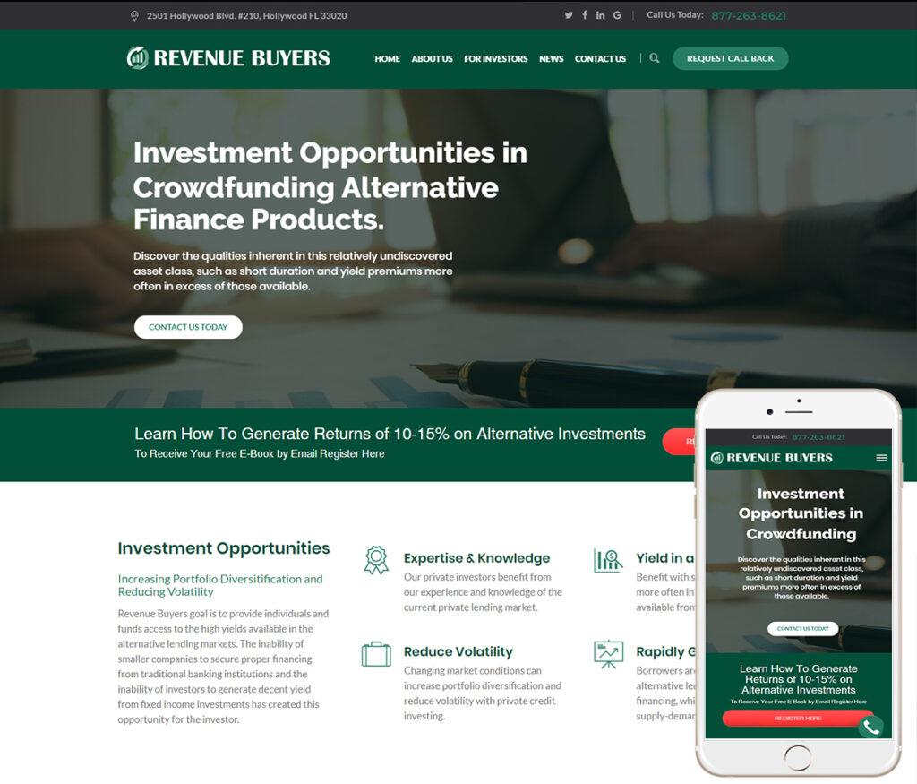 Financial Website Design