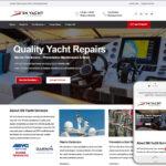 Marine Website Design