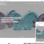 Product Packaging Website Design