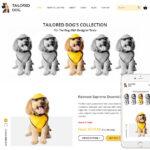 Dog Products Website Design