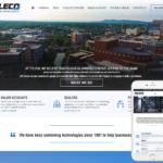 Telecommunications Website Design