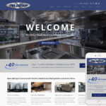Commercial Kitchen Website Design